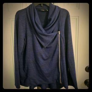 Apt 9 womans side zip sweater